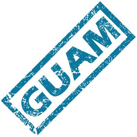 guam: Guam rubber stamp