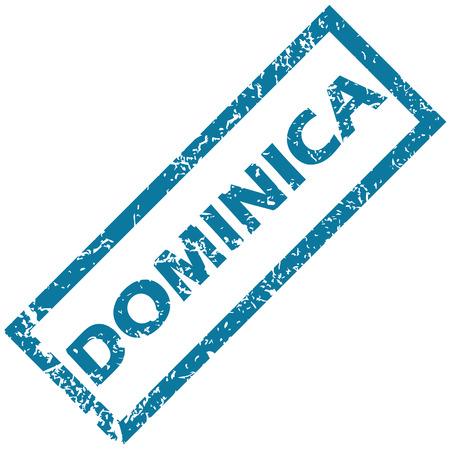 dominica: Dominica rubber stamp