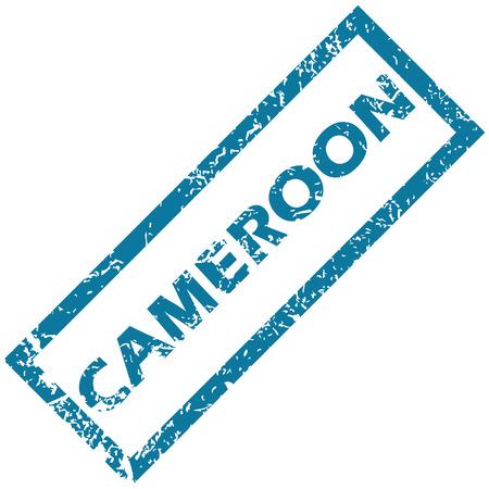 cameroon: Camerun timbro di gomma