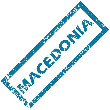 unclean: Macedonia rubber stamp