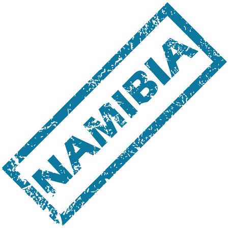 namibia: Namibia rubber stamp Illustration