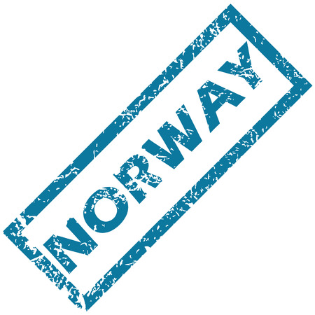 norway: Norway rubber stamp