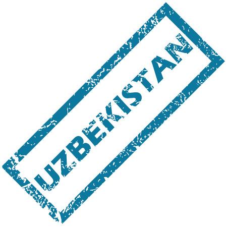 oezbekistan: Oezbekistan rubber stamp