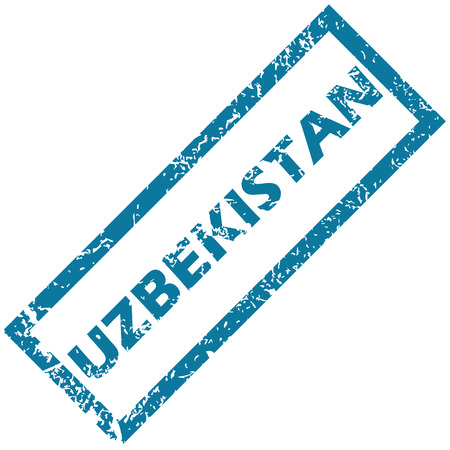 uzbekistan: Uzbekistan rubber stamp