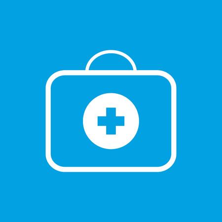 medic: Medic bag white icon
