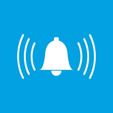 alarmclock: Alarmclock white icon