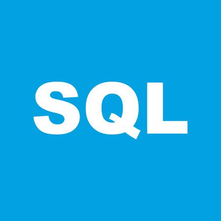 sql: SQL white icon