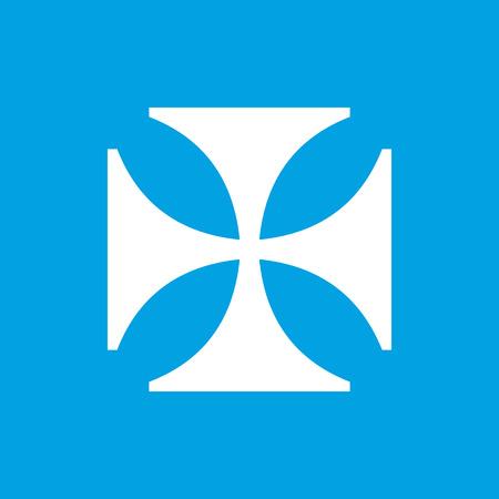 crusaders: Crusaders white icon