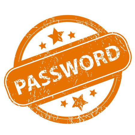 password: Password grunge icon