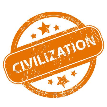 Civilization grunge icon