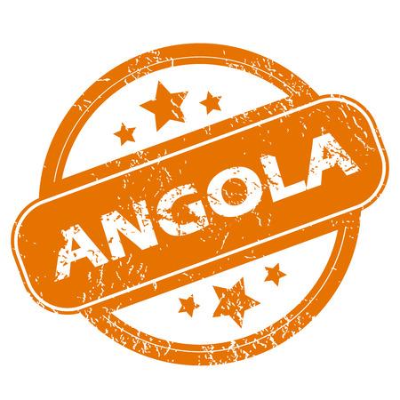 angola: Angola grunge icon