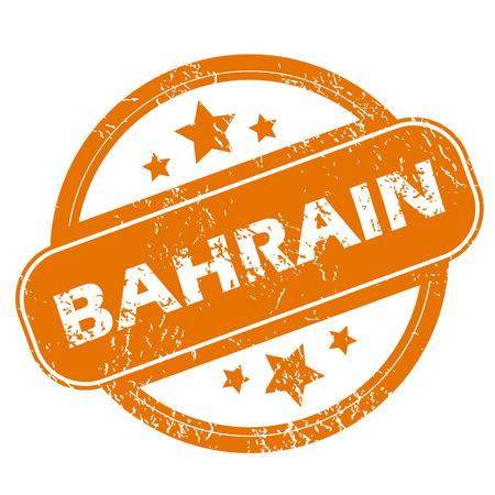 bahrain: Bahrain grunge icon