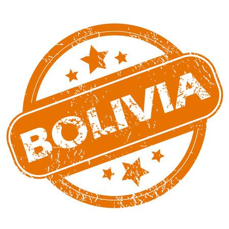bolivia: Bolivia grunge icon