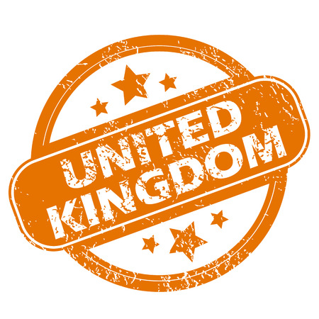 of the united kingdom: United Kingdom grunge icon Illustration