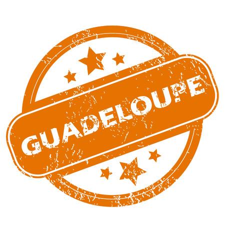 guadeloupe: Guadeloupe grunge icon