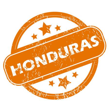 honduras: Honduras grunge icon
