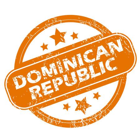 dominican republic: Dominican Republic grunge icon