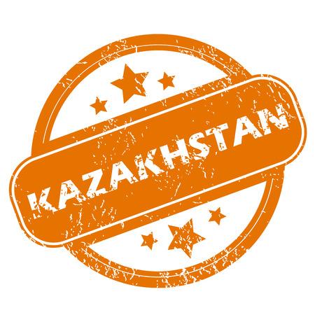 kazakhstan: Kazakhstan grunge icon
