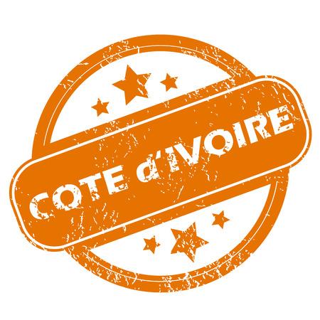 cote d ivoire: Cote d Ivoire grunge icon
