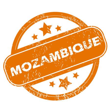 mozambique: Mozambique grunge icon