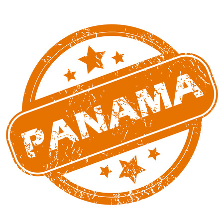 panama: Panama grunge icon