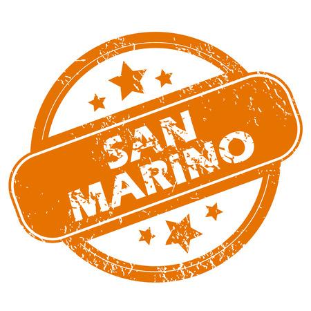 san marino: San Marino grunge icon