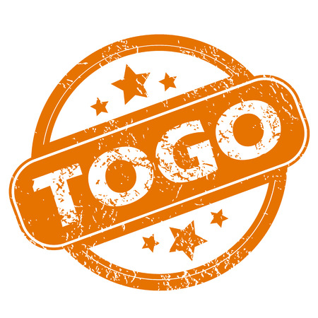 togo: Togo grunge icon Illustration