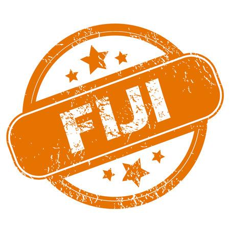 fiji: Fiji grunge icon