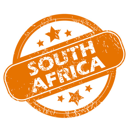south africa: South Africa grunge icon