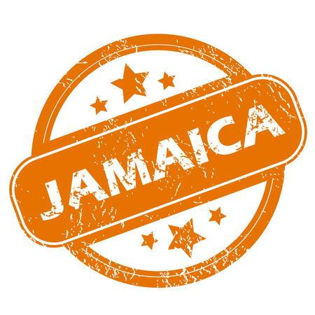 jamaica: Jamaica grunge icon