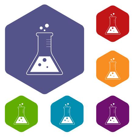 experiment: Experiment rhombus icons