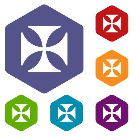 crusaders: Crusaders rhombus icons