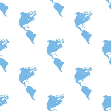 kontinentální: Continental Americas bezešvé vzor