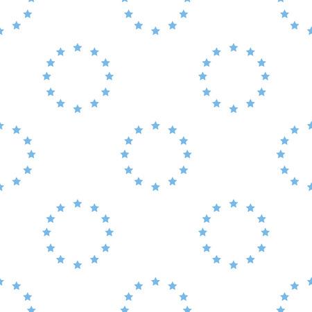 european: European Union seamless pattern