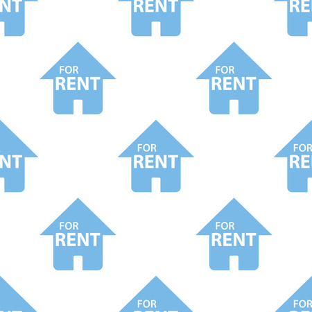 for rent: For rent seamless pattern