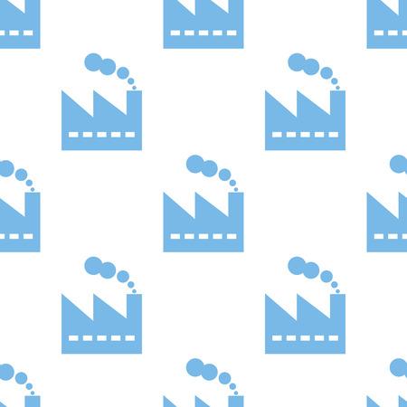 manufactory: Factory seamless pattern