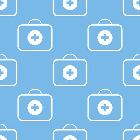 medic: Medic bag seamless pattern
