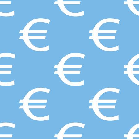 euro: Euro seamless pattern