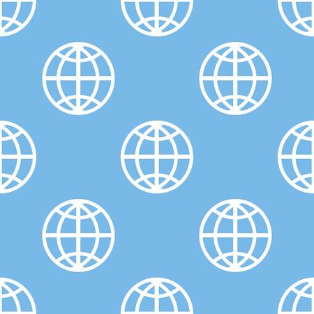 unification: World seamless pattern Illustration
