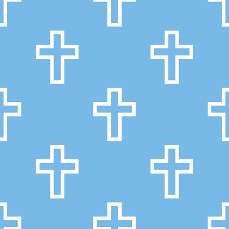 protestant: Protestant Cross seamless pattern Illustration
