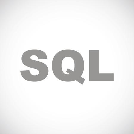 sql: SQL black icon