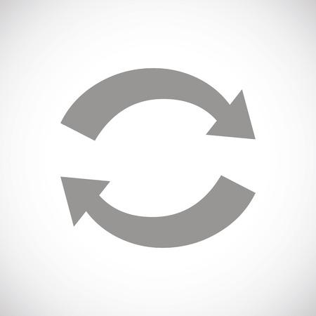 sincronizacion: Sincronizaci�n icono negro
