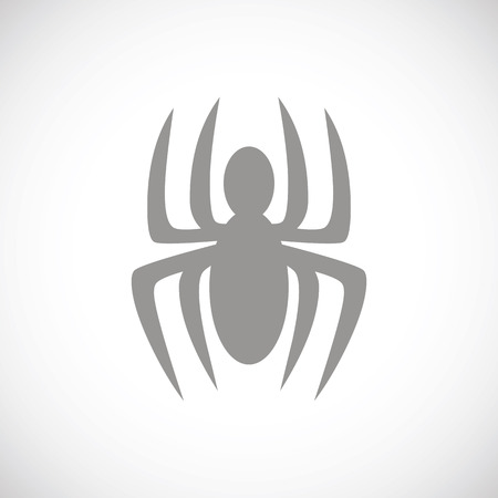 spinner: Spider black icon Illustration