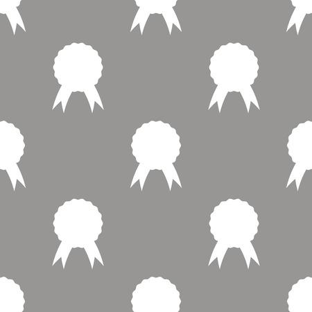merit: Medal seamless pattern Illustration