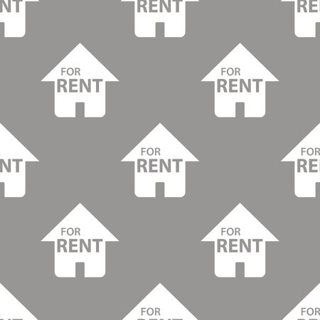 rent: For rent seamless pattern