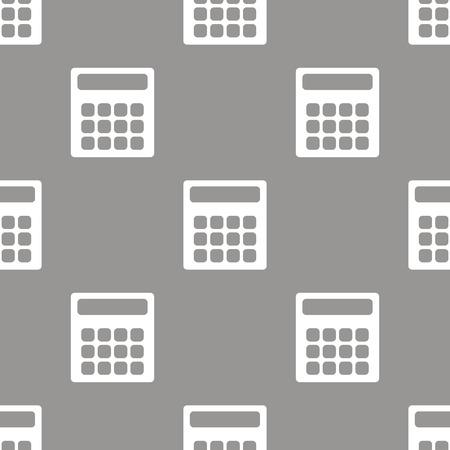 numerate: Calculator seamless pattern