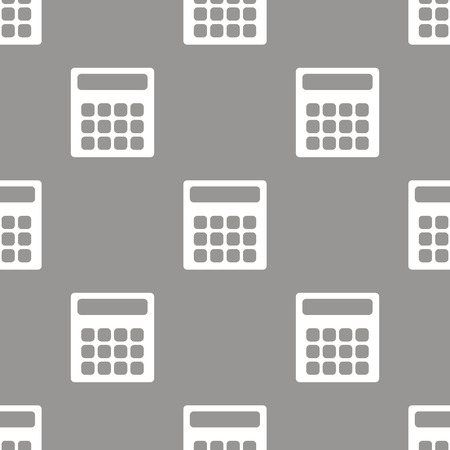 Calculator seamless pattern