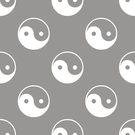 cult: Yin Yang seamless pattern