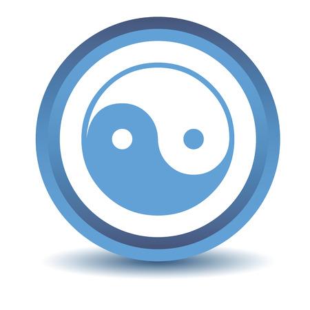 yang: Blue Yin Yang icon