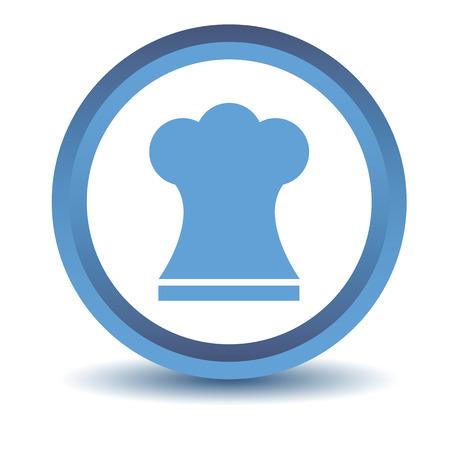 kitchener: Blue Chef hat icon